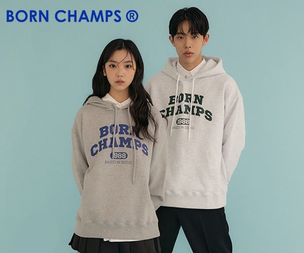 人気アイドルも愛用中の韓国デザイナーズブランド着心地満点【BORN CHAMPSボーンチャンプス】