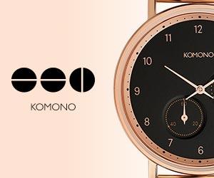 ベルギー発のファッション時計サングラスブランド!【コモノ】
