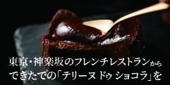 神楽坂 ル コキヤージュの絶対スベらない鉄板ギフト!テリーヌ ドゥ ショコラ