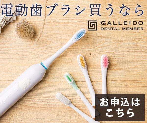 電動歯ブラシのサブスクリクション「GALLEIDO DENTAL MEMBER」